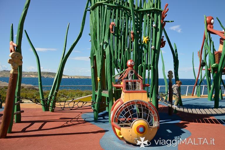 parco giochi acquario malta