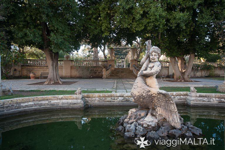 giardini di Villa Bologna ad Attard
