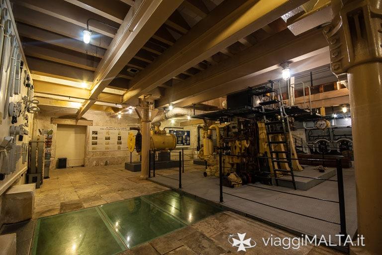 Museo marittimo di Malta - sala piano terra