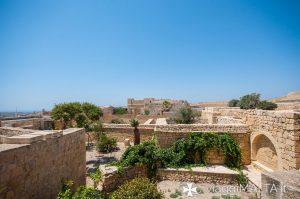 panorama dalla casa storica della Cittadella di Victoria