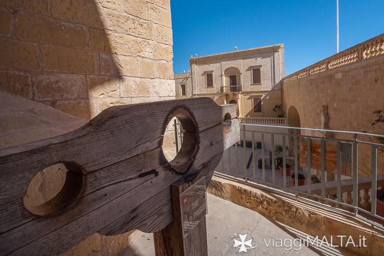 ingresso vecchie prigioni cittadella di victoria