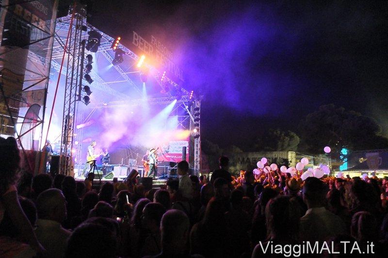 concerto stage rock Farsons Beer Festival