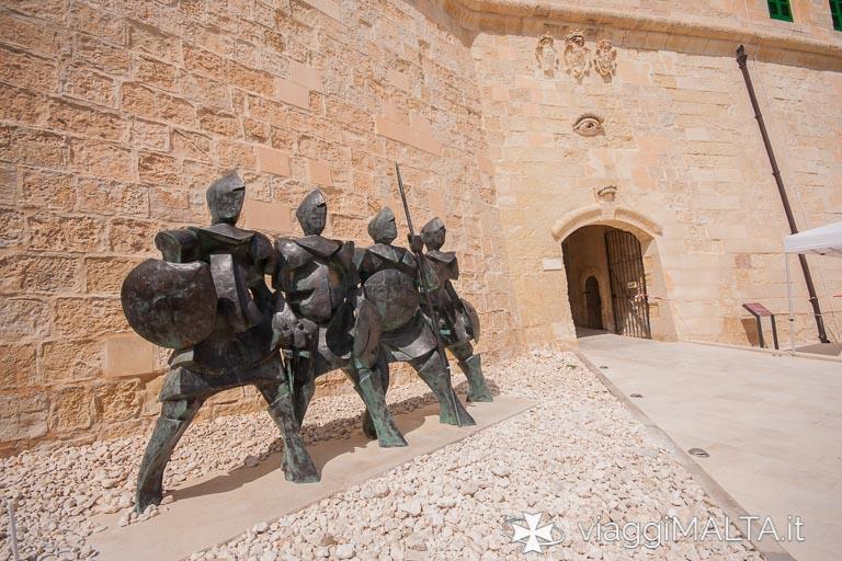 ingresso della Porta del Soccorso a Forte Sant'Elmo, Valletta
