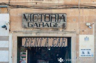 Insegna noleggio auto a Gozo