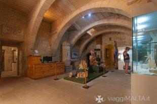 Ingresso del Museo di scienze naturali a Gozo