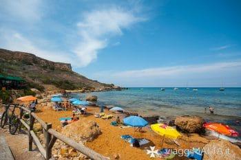 San Blas bay a Gozo