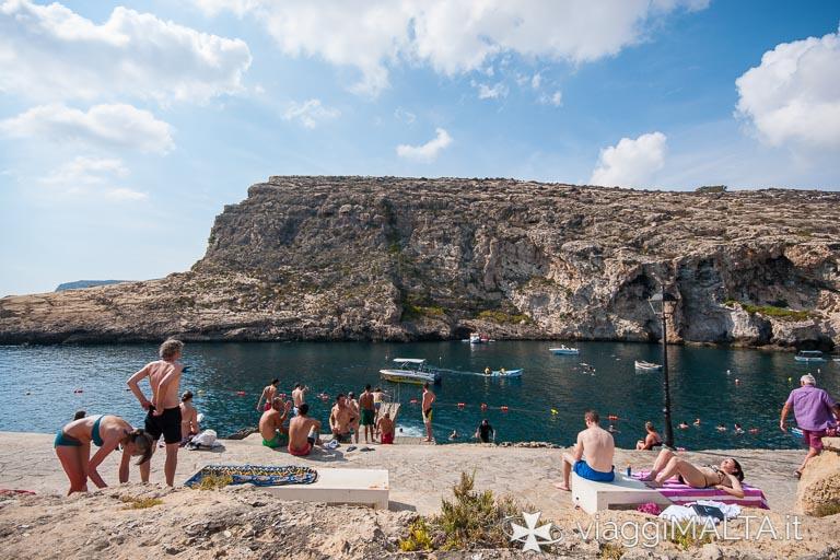 Xlendi Bay a Gozo