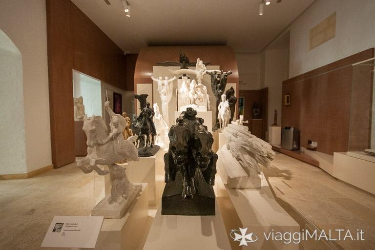 opere di Antonio Sciortino esposte nel MUZA