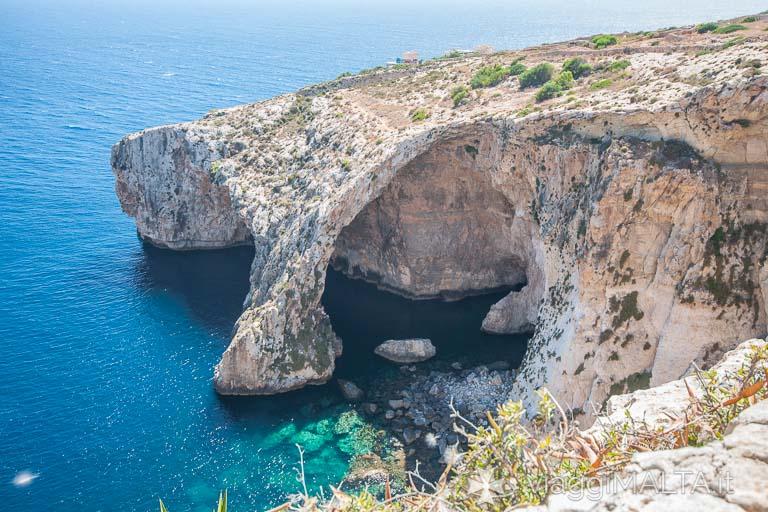 Blue grotto a Malta