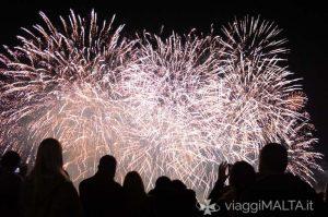 fuochi d'artificio a Valletta