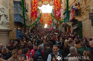 festa di San Paolo Naufrago a Malta