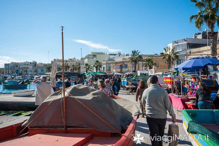 Mercato domenicale di Marsaxlokk