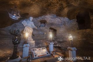 Grotta di San Paolo all'interno del Museo Wignacourt, Rabat