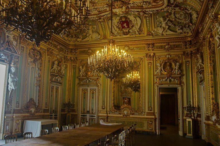 Naxxar - interni di Palazzo Parisio