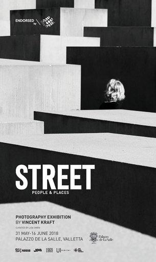 Poster esibizione Street Valletta