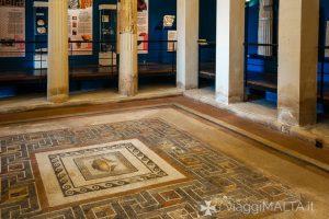 interni della Domus Romana a Rabat