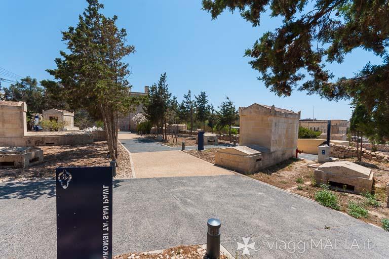 Giardini delle Catacombe a Rabat