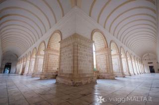 chiostro del convento dei dominicani a Rabat