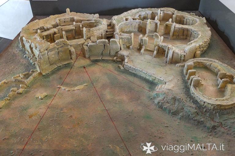 allineamenti solari tempio di Mnajdra