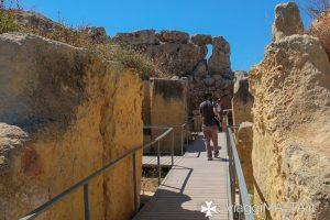 Itinerario storico ai templi di Gigantija