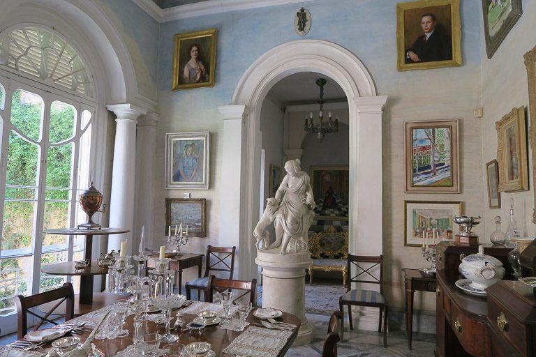 interni di Casa Rocca Piccola a Valletta