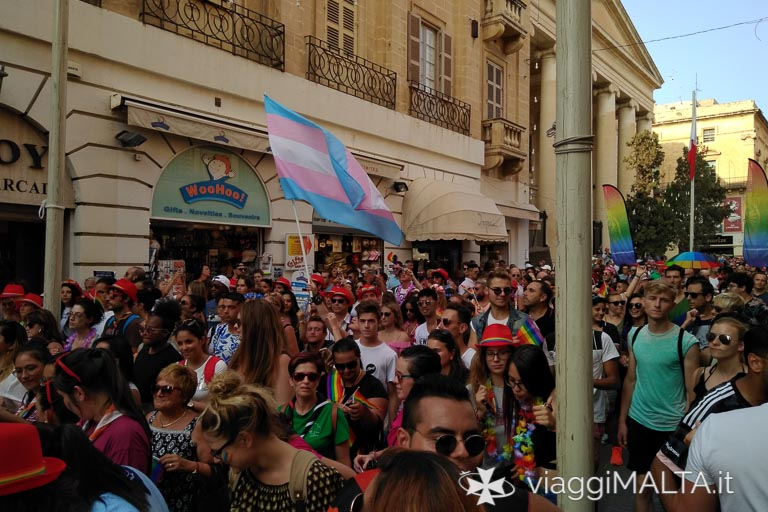 Gay Pride 2018 a Valletta