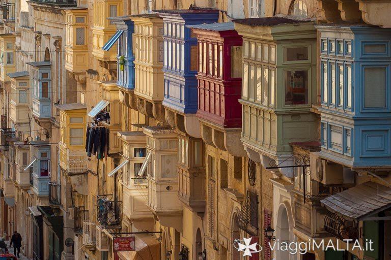 Scorcio tipico di Valletta