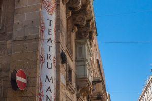 esterni del Teatro Manoel