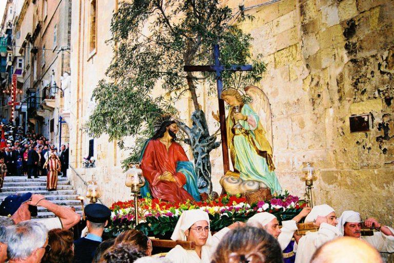 Processione di Pasqua a Valletta