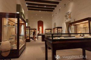 sezione preistorica del Museo Archeologico di Gozo