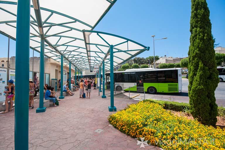 Stazione degli autobus a Victoria - Rabat