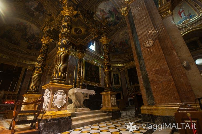 altare Basilica di San Giorgio a Victoria, Gozo