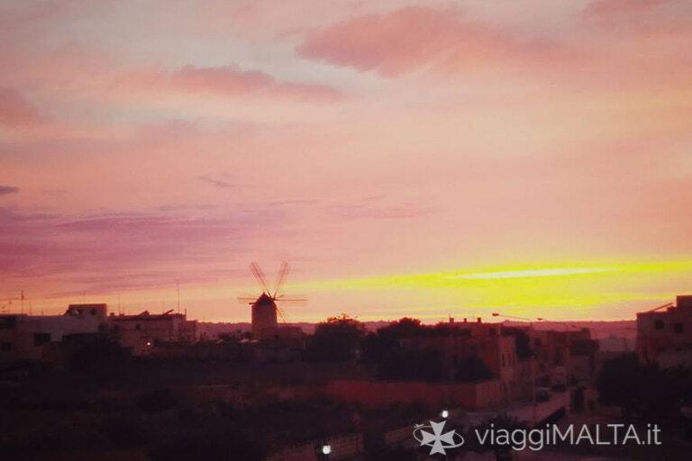 tramonto a Zurrieq