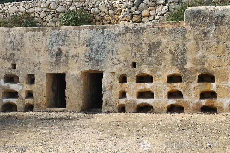 apiario romano sulla strada romana di Xemxija