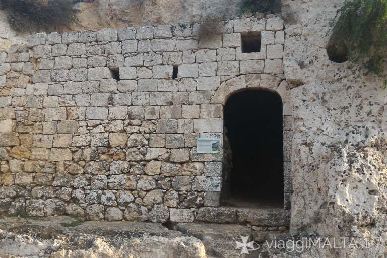 bagni romani lungo la strada romana di xemxija
